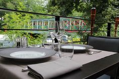 La terrasse de La Passerelle www.123terrasse.fr/la-passerelle #coffee #bar #restaurant #soleil #terrace #Paris #spot #sun #garden #jardin