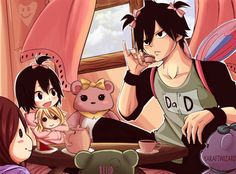 Zeref and his daughter
