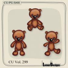 CU Vol. 299 Bears by Lemur Designs #CUdigitals cudigitals.com cu commercial digital scrap #digiscrap scrapbook graphics
