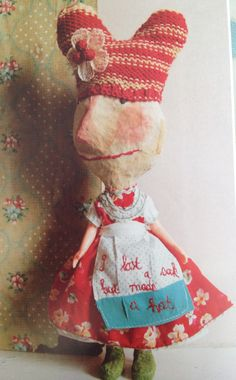 'I lost a sack but made a hat' : Julie Arkell