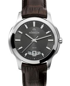 Michel Herbelin watch. Elegant sportive and 100m waterproof for an amazing price! 100m, Watch Brands, Omega Watch, Watches, Elegant, Amazing, Top, Fashion, Classy