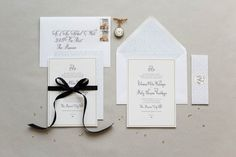 Rose & Ruby Paper Co Wedding Invitation Collection