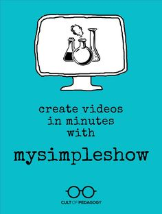 Create Videos in Minutes with MySimpleShow - This free, easy tool can help you create engaging, content-rich videos for the classroom in no time. Instructional Strategies, Teaching Strategies, Teaching Tips, Technology Tools, Educational Technology, Technology Humor, Business Technology, Educational Websites, Technology Design