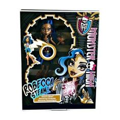 Monster High Ghoul's Alive Robecca Steam Doll