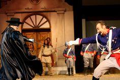 """#TEATRO """"Zorro, la venganza de Monasterio"""" - Vacaciones de Invierno 2012"""
