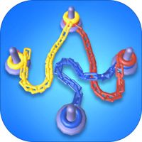 Can you sort all of the colored chains onto poles? But be careful not to get tangled or you'll go knots! Learning To Love Again, Game Prices, Make A Game, Play N Go, Different Games, Free Games, 100 Games, One And Other, Android Apps