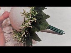 Свадебный букет дублер  брошь✔ ℳAℛίℕℰ DIY✔ - YouTube