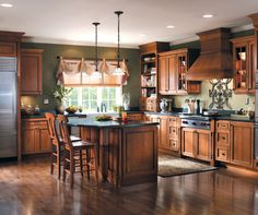 Tuscan Kitchen White Maple Cabinets | Tuscany Cabinet Door Style - Country Style Cabinetry ...