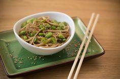 Green Tea Noodle Dish- super simple