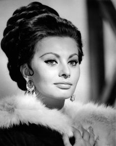Fabulous and curvy, Italian actress Sophia Loren's timeless beauty won everybody's hearts. She won the best actress Oscar in 1962 for La ciociara, making her the first actor to win an Oscar for a foreign language film.