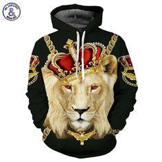 14a732597a6 Get Lion King Hoodies Men Women Unisex Sweatshirts Print Colorful Blocks  Skull Hooded Hoodies Hip Hop Hoodies