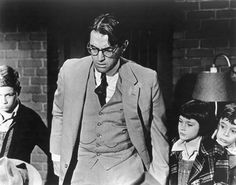 """To Kill a Mockingbird"": still with Peck and Badham from ""To Kill A Mockingbird"""