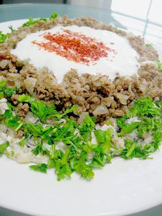 My Turkish Kitchen: ALİ NAZİK Grilled eggplant with ground beef and yoghurt