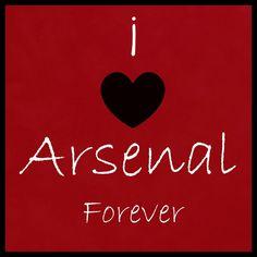 i love arsenal forever