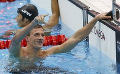 Ryan Lochte wins his first Gold in London
