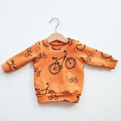 Bicycles baby sweater, baby sweatshirt, baby hoodie, baby boy  clothes, baby girl clothes, toddler clothes, boy sweatshirt, girl sweatshirt