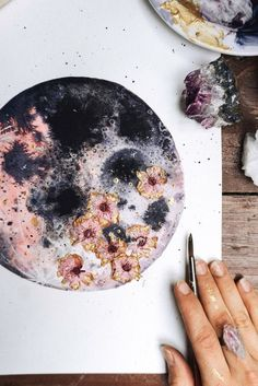Lune rose, Art de la lune, Luna - Bouche Bouche-Art rosa Luna Informations About Pink Moon, Moon Art, Luna Pin You can easily use my p - Rose Art, Tinta Neon, Painting & Drawing, Watercolor Paintings, Watercolours, Moon Painting, Wall Paintings, Ballerina Kunst, Watercolor Flower