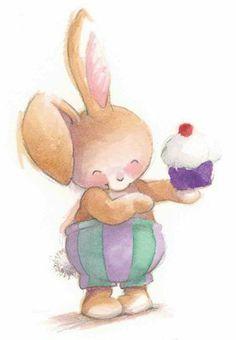 ♥♥ ʕ •́؈•̀ ₎Rabbit by Simon Taylor-Kielty at the SAA Illustration Hub. ʕ •́؈•̀ ₎