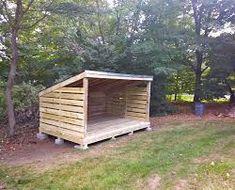 Bilderesultat for firewood storage shed