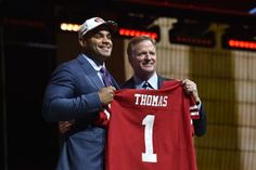 With its two first-round selections in the 2017 NFL Draft, the 49ers selected Stanford's Solomon Thomas and Alabama's Reuben Foster.