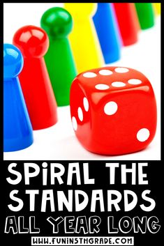 Learn all about spiraling standards in the classroom, why it's effective and how to do more of it in your classroom! In this post, Angie from Fun in 5th Grade explains all this and gives great ideas and tips with games on how to spiral all year long while keeping your students engaged with games while reviewing. Read about games, activities Spiral Math, Indoor Recess, I Love Games, Multiplication Facts, Review Games, Early Finishers, Math Concepts, Group Work, Mini Games