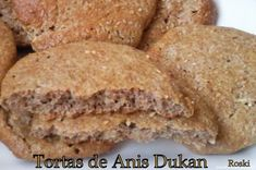 Receta de Tortas de Anís Dukan (Tipo Inés Rosales) Breakfast Desayunos, Sin Gluten, Cornbread, Banana Bread, Low Carb, Favorite Recipes, Cooking, Ethnic Recipes, Desserts