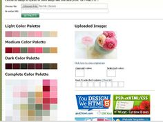 Creating a color palette without Photoshop...