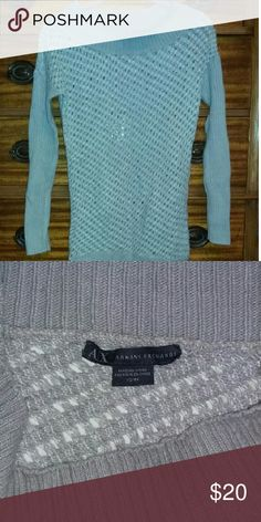 Armani Exchange sweater Long sweater. Wear with leggings and riding boots for an effortless chic look Armani Exchange Sweaters Crew & Scoop Necks