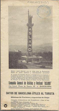 #arxiu #guia #Asland #expo1929 #Barcelona