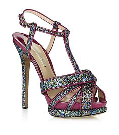 Nicholas Kirkwood's Manchu glitter sandal is the ultimate party shoe.