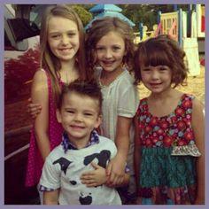 Jessica and Jep's kids!