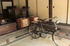 old bicycle, Edo-tokyo Tatemonoen, Tokyo