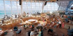 The Café @ Two70 | Anthem of the Seas | Royal Caribbean