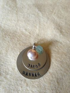 Hand stamped necklaces get your own at juniperhartdesign.etsy.com