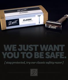 The New Detroit Grooming Classic Safety Razor - See how we are changing the Shaving Game