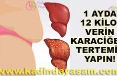 Bir ayda 12 kilo verdiren karaciğeri tertemiz yapan tarif
