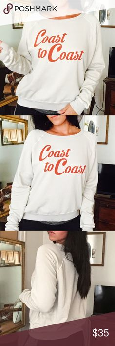 COAST TO COAST SWEATER Cute sweater. Great condition. Size medium. No trades offers welcome. Urban Outfitters Sweaters Crew & Scoop Necks