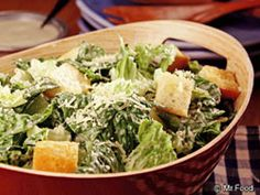 Caesar Salad - leave the anchovies out, please.
