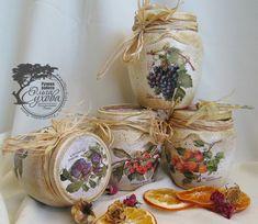 Рукодельная лавка - Каталог - Авторские работы - Чайные домики, часы, подстаки под чашки, баночки для кухни