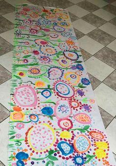 Kindergarten Art, Preschool Art, Diy For Kids, Crafts For Kids, Arts And Crafts, Orla Infantil, Collaborative Art Projects, Dot Day, Painted Rug