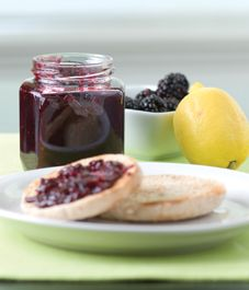 Recipe: Blackberry-lemon marmalade from Putting Up More by Stephen Palmer Dowdney. Photography by Rick McKee. Raincoast Books.