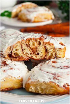 Babka waniliowa - przepis - I Love Bake Dessert, Camembert Cheese, Cake Recipes, Nutella, Bread, Baking, Breakfast, Ferrero Rocher, Muffins