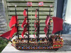 awesome lego pirate ship