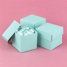 BalsaCircle 100 2 pieces Wedding Party Cute Favors Gift Boxes with Lids  Turquoise *** Want additional info? Click on the image. #PartySupplies