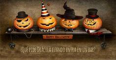#daypo #halloween #tests Evil Demons, Dracula, Satan, Pumpkin Carving, Happy Halloween, Devil, Ideas, Art, Tinkerbell