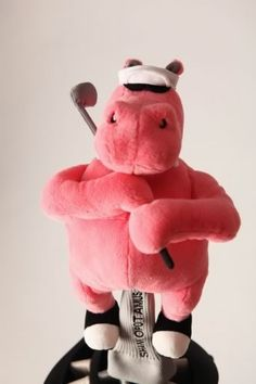 Shankapotumus head cover in pink from Shankopotomus