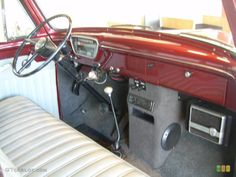 1953 original ford truck colors | 1953 Dark Red Metallic Ford F100 Pickup Truck #42873688 Photo #14 ...