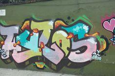 Arte Urbano (Graffiti) por las calles de la CDMX