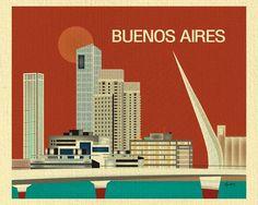Buenos Aires, Argentina - Orange