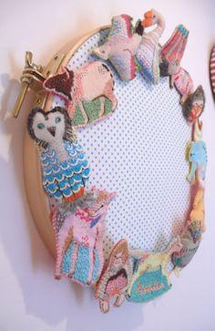 「アトリエ訪問」 絵を描くように、色とりどりの刺繍糸と布で表現―衣装作家・神尾茉利さん